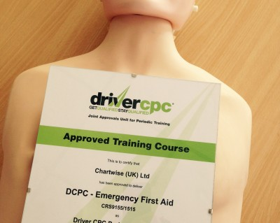 First-Aid Driver CPC Training