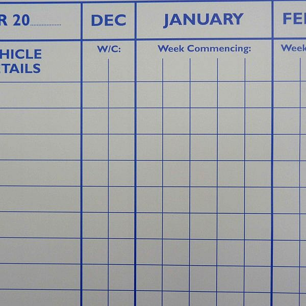 vehicle maintenance planner